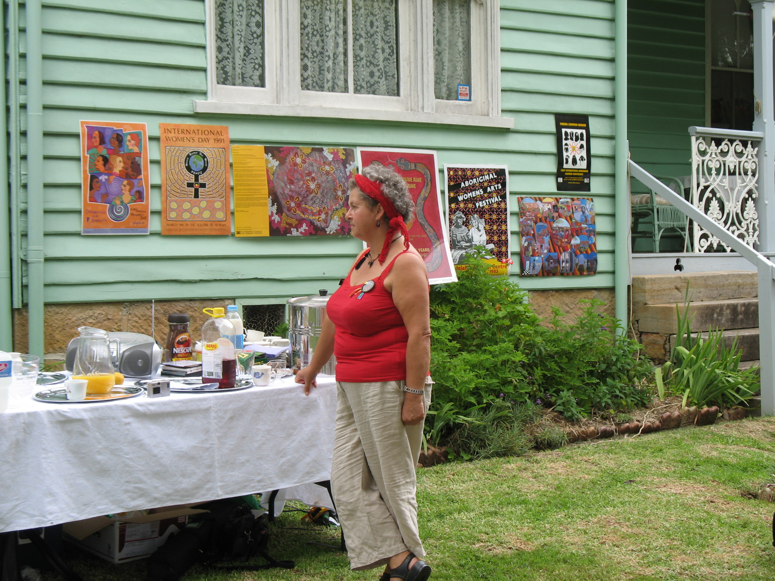 2007, Sandra Lee; Initiator of IWD events in the Shoalhaven at IWD Awards Ceremony